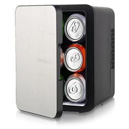 NutriChef AZPKTCEC4STS Cooler Box, 4.41 pounds, Silver