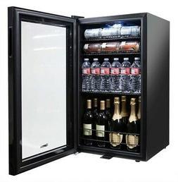 Beverage Center Can Cooler Wine Bottle Cellar Fridge Glass D