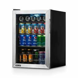 NewAir Beverage Cooler and Refrigerator, Small Mini Fridge w