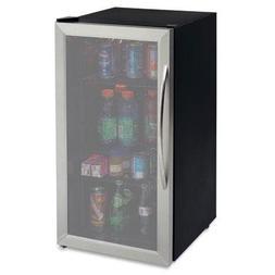 Avanti 3.1 Cubic Foot Beverage Cooler / Sylish Black Cabinet