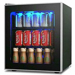 Beverage Refrigerator Fridge And Cooler 60 Can Mini Fridge A