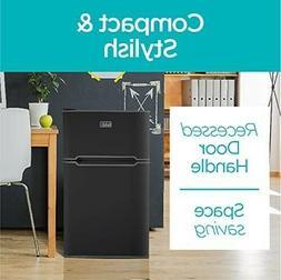black decker 2 door mini fridge