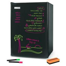 Black Mini Fridge Dry Erase Board Spacious Fridge Freezer Co