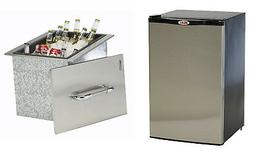Bull Outdoor Stainless Steel Outdoor Refrigerator & Beverage