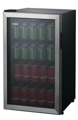 Can Beverage Center Galanz 110 Capacity Cooler Mini Fridge S