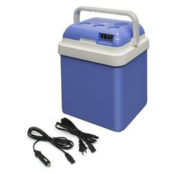 ALEKO CARFR24BL Portable Car Fridge Travel Cooler Warmer 12V