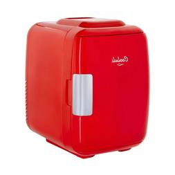 Cooluli Classic 4-liter Compact Cooler/Warmer Mini Fridge fo