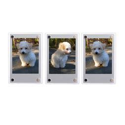 3 PCS Clear Fridge Magnetic Frame 60x90mm-Fuji Mini 8 8+ 9 7