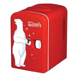 Coca Cola 6-Can 0.14 cu. ft. Compact Refrigerator