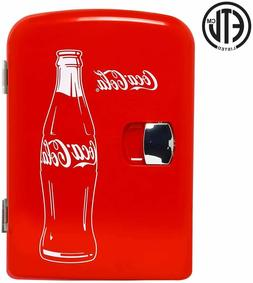 Coca-Cola Classic Thermoelectric Cooler Koolatron Mini Fridg