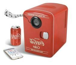 Coca Cola Coke Mini Fridge With Build In Bluetooth Speaker
