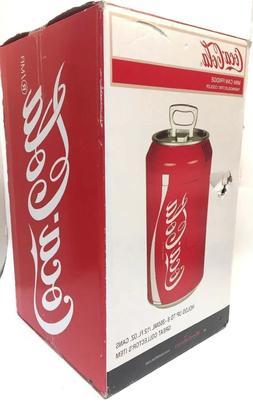 coca cola mini can fridge refrigerator coke