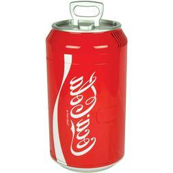 Compact Classical Coca Cola Personal 8-Can Portable Mini Fri