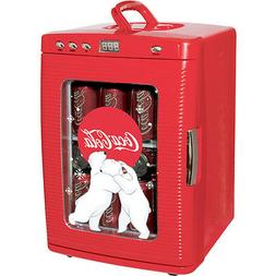 Compact Coca-Cola 28 Can Mini Refrigerator, Countertop Coke