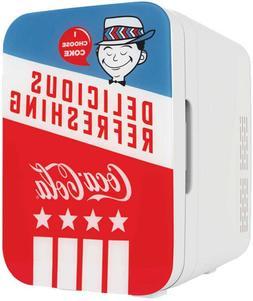 Cooluli K10LGA Mini Fridge Coca-Cola Americana Retro 10 Lite