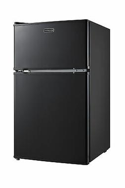 Emerson CR510BE 3.1 Cubic Foot Compact Double Door Refrigera