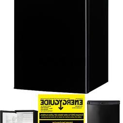 Danby DAR026A1BDD-3 Compact Refrigerator, 115 V, 15 A, 1 Doo