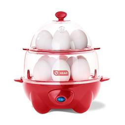 Dash Egg Cooker Deluxe - 360 W - Red