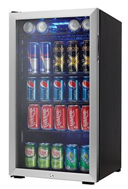 "Danby DBC120BLS 18"" Beverage Center with 3.3 Cu. Ft. Capacit"