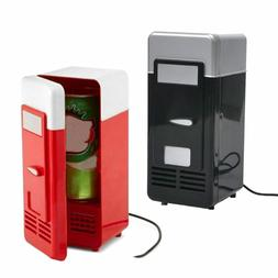 Desktop Fridge USB for Office Car Refrigerate Cold Can Mini