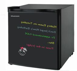 Frigidaire EFR176-Black 1.6 Cu Ft Retro Fridge, Medium, Blac