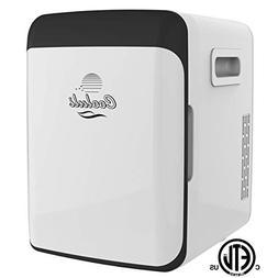 Cooluli CMF15LW Mini Fridge Electric Cooler and Warmer AC/DC
