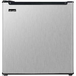 Magic Chef Energy Star 1.7 Cu Ft Mini Fridge, Stainless Stee