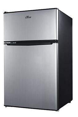 Willz 3.1 cu ft. Energy Star Stainless Steel 2-Door Compact