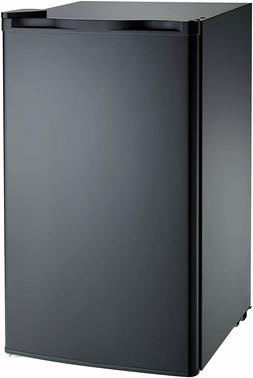 RCA FBA Black RFR321 Mini Refrigerator, 3.2 Cu Ft Fridge, CU