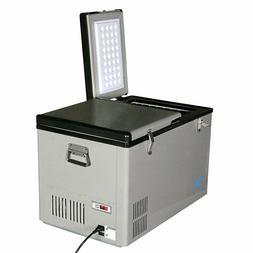 Whynter FM-62DZ 62-Quart Dual Zone Portable Refrigerator/Fre