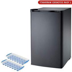 Igloo  FR320I 3.2 CU Ft Compact Fridge - Black, Deluxe Packa
