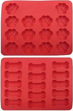 GYBest GGT01 Food Grade Large Ice Cube Trays, Silicone Bakin
