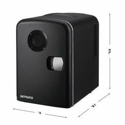 Gourmia GMF600 Portable 6 Can Mini Fridge Cooler and Warmer
