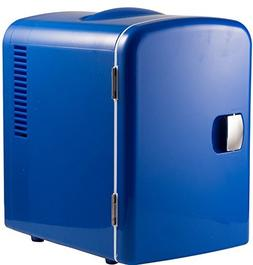 Gourmia GMF600B Portable 6 Can Mini Fridge Cooler and Warmer