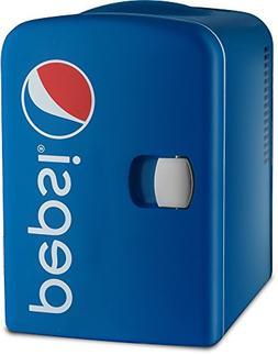 Gourmia GMF660 Pepsi Thermoelectric Mini Fridge Cooler and W