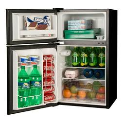 Haier 3.2-cu. ft. HC32TW10SB 2-Door Compact Refrigerator- Bl