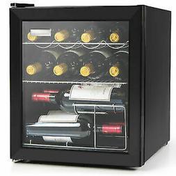 Igloo IBC16BK 15-Wine Bottle or 60-Can Glass Door Beverage C