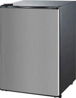 RCA-Igloo 4.5 Cubic Foot Fridge, Stainless Steel RFR441