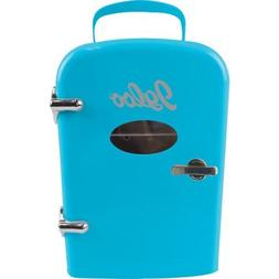 Igloo Mini Beverage Fridge, Blue,Consumes Much Less Power Th