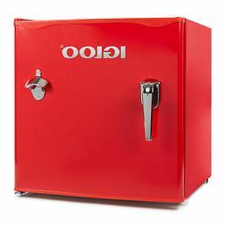 Igloo IRF16RSRD Classic Compact Single Door Refrigerator Fre