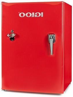 Igloo IRF26RSRD Classic Compact Single Door Refrigerator Fre