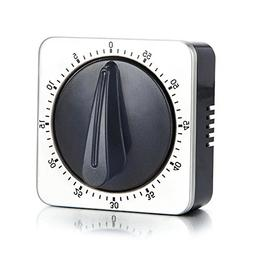 Kitchen Timer with 80dB Alarm Sound Magnetic Countdown Timer