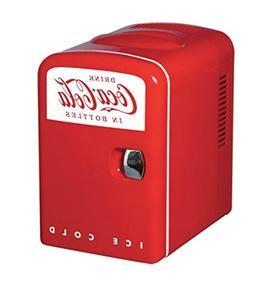 Koolatron Cocoa-Cola Personal 6-Can Mini Fridge by Coca-Cola