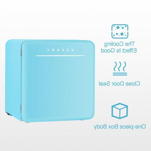 1.6 Cu Ft Fridge Compact Freezer w/ Chilling Blue