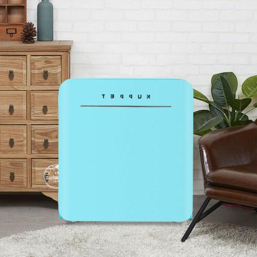 1.6 Cu.Ft Retro Mini Fridge Compact Refrigerator Home Office