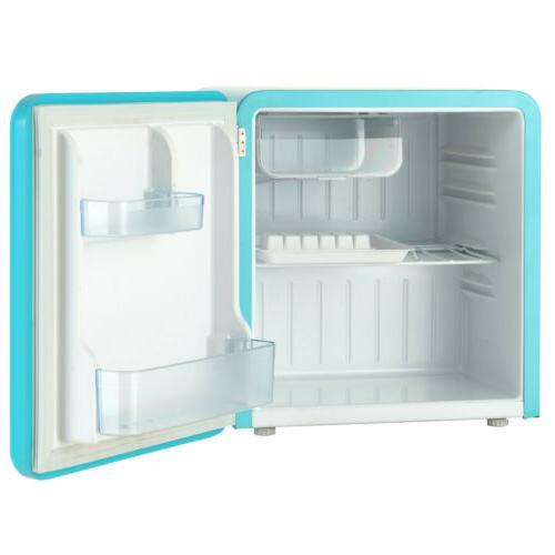 Fridge Refrigerator w/ Retro Blue