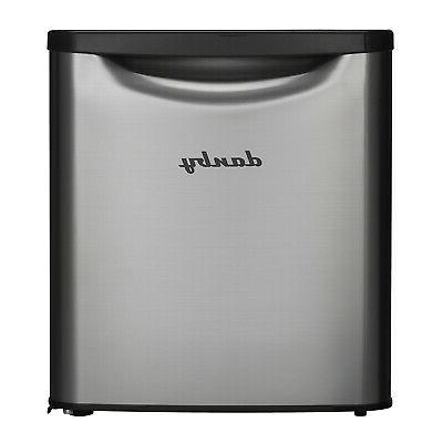 Danby Contemporary Classic Compact Refrigerator, Stainless