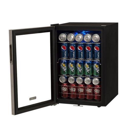 5 Bottle Supreme Cold Beverage Cooler Stainless Steel