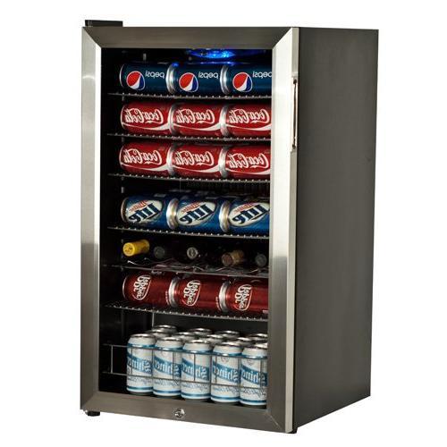 EdgeStar and 5 Supreme Beverage Cooler - Stainless Steel