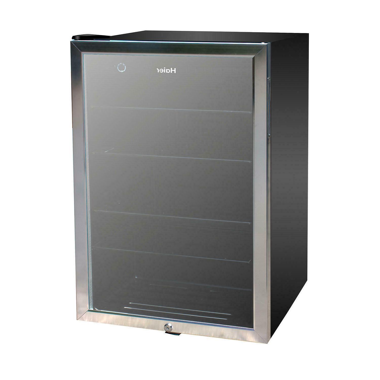 150 can beverage cooler reversible door